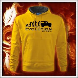 Evolution Off Road - žltá mikina