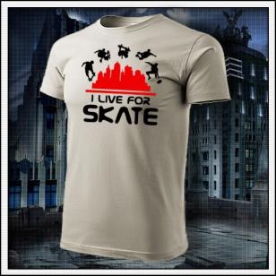 I Live For Skate - ľadovosivé