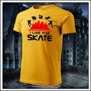 I Live For Skate - žlté