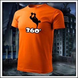 360° - oranžové
