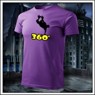 360° - fialové