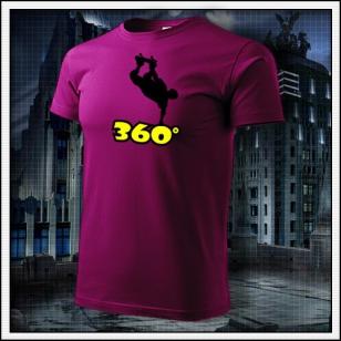 360° - fuchsia red