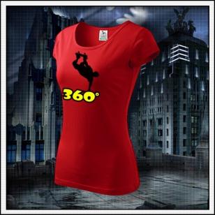 360° - dámske červené