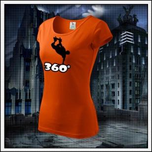 360° - dámske oranžové
