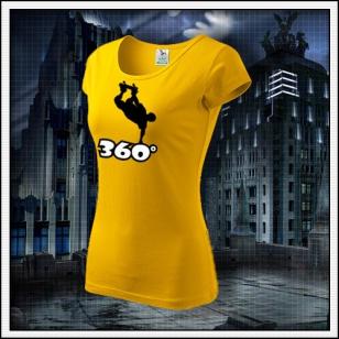 360° - dámske žlté