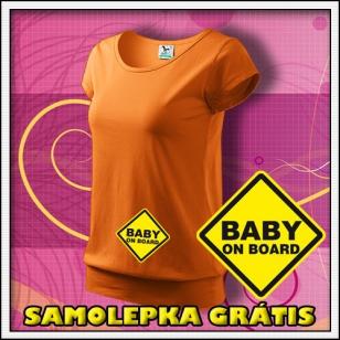 Baby on Board - jantárové + SAMOLEPKA