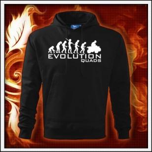 Evolution Quads - Štvorkolky - čierna mikina
