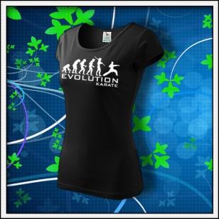 Evolution Karate - dámske čierne