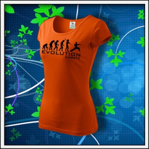 Evolution Karate - dámske oranžové