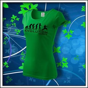 Evolution Karate - dámske trávovozelené