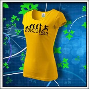 Evolution Karate - dámske žlté