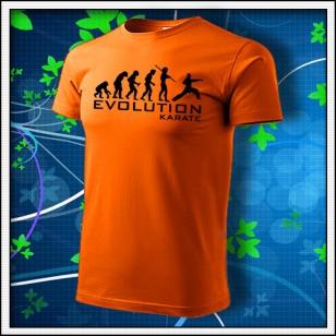 Evolution Karate - oranžové