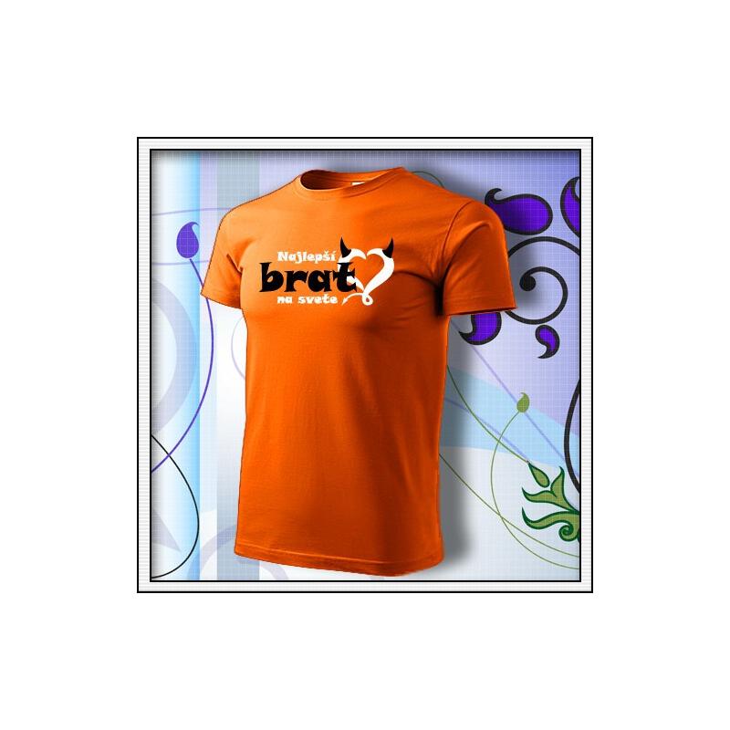 Brat 01 - oranžové