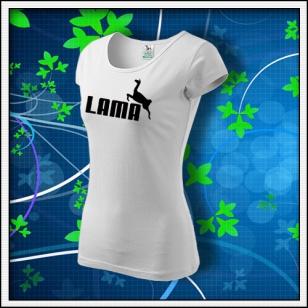 Lama - dámske biele