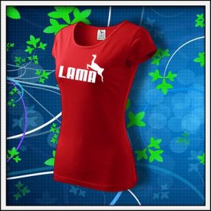 Lama - dámske červené