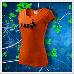 Lama - dámske oranžové