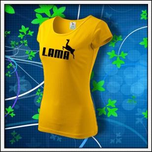 Lama - dámske žlté