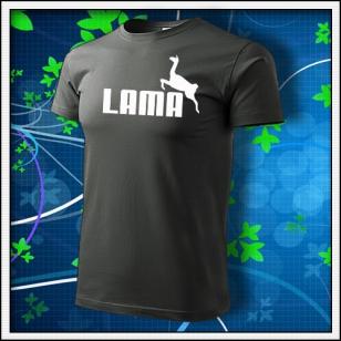 Lama - tmavá bridlica