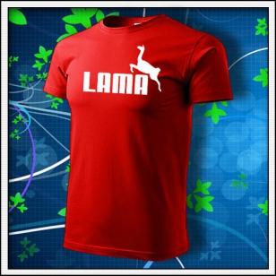 Lama - červené