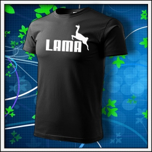 Lama - čierne