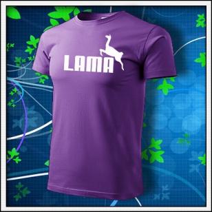 Lama - fialové