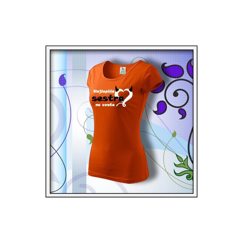 Sestra 01 - oranžové