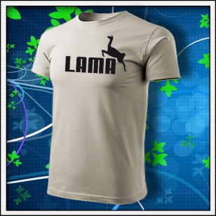 Lama - ľadovosivé