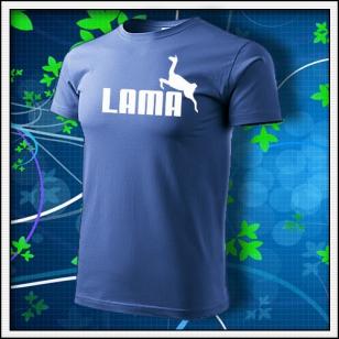 Lama - svetlomodré