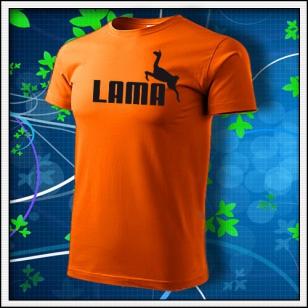 Lama - oranžové
