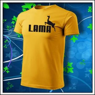 Lama - žlté