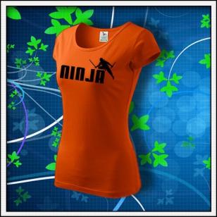 Ninja - dámske oranžové