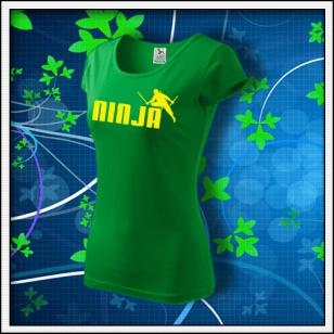 Ninja - dámske trávovozelené