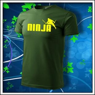 Ninja - fľaškovozelené