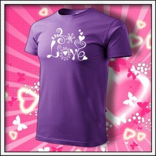 Love - fialové