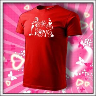 Love - červené