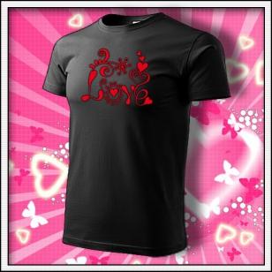 Love - čierne
