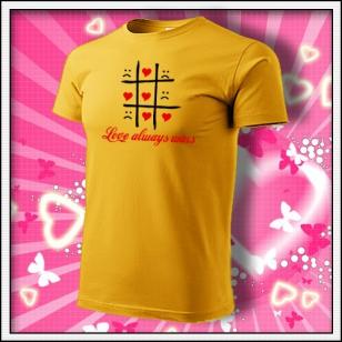 Love always wins - žlté