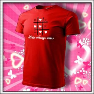 Love always wins - červené