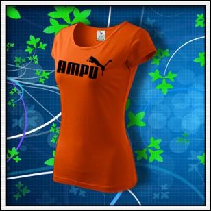 Ampu - dámske oranžové
