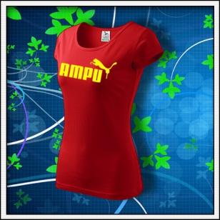 Ampu - dámske červené