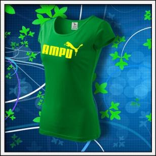 Ampu - dámske trávovozelené