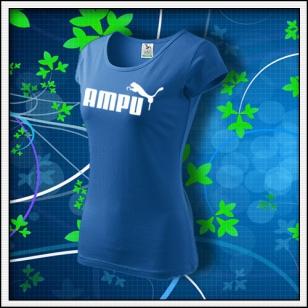 Ampu - dámske svetlomodré