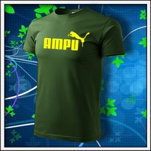 Ampu - fľaškovozelené