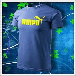 Ampu - svetlomodré