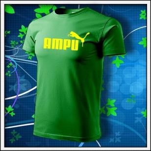 Ampu - trávovozelené