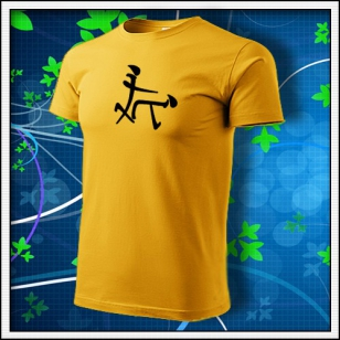 Čínsky znak - žlté