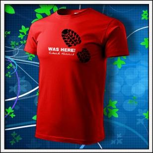 Was Here! Chuck Norris - červené