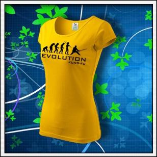 Evolution Kung-Fu - dámske žlté