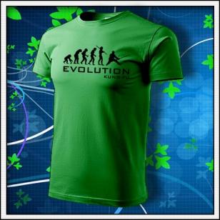 Evolution Kung-Fu - trávovozelené