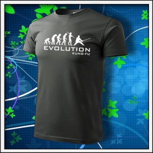 Evolution Kung-Fu - tmavá bridlica
